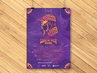 Full poster design for Delvon Lamarr Organ Trio 2019 World Tour