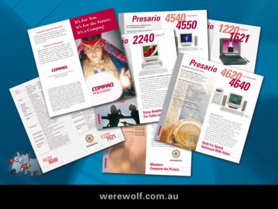 Compaq Presario – Retail Catalogue.