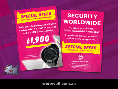 Security Worldwide – Marketing Materials. brochure design acrobat indesign illustrator photography photoshop retouching final art concepts project management art direction graphic design typography branding