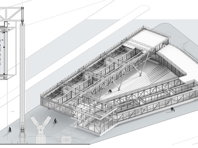 Structure technical illustrator technical drawing rhino3d autocad architecture