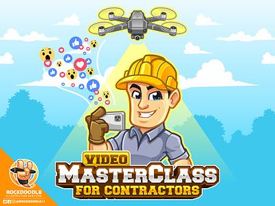 MasterClass for Constractors designs vectorart logodesigner vector