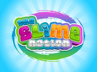 The Slime Nation nation slime web vector logo cartoon rockdoodle