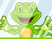 Frog Mascot   Dribble