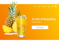 Hello Dribbble - Lick Of Sunshine
