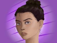 Purple idk
