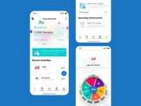 Green Rewards App Home and Concept Design