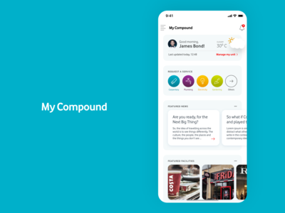 My Compound Realestate PropTech Facility Resident App
