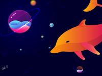 Swim within worlds!