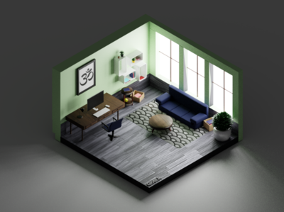 Another Isometric Room!