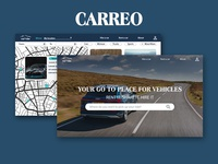 Carreo | Car Rental Website UI