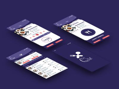 QLIST   A restaurant wait-list mobile application UI