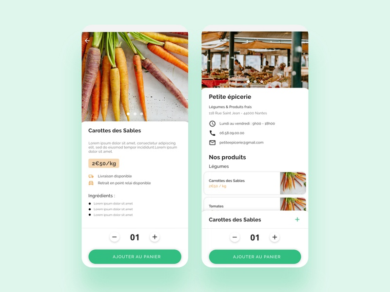 Food Delivery App | Part 3 ux food delivery application green ui green ui design ui ux product designer product design minimal interface design food delivery service food design app food service food delivery app food delivery food app food app design
