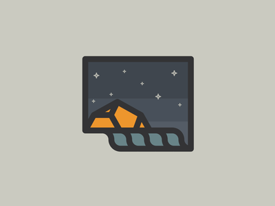 Waterside camping logo