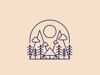 Quick camping logo