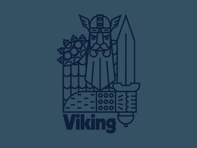 Viking logo ⚔️🛡
