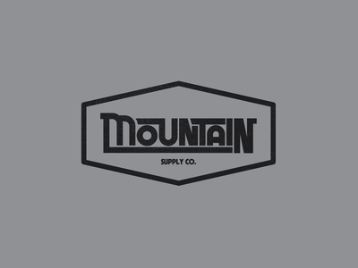 Mountain Supply Co. logo