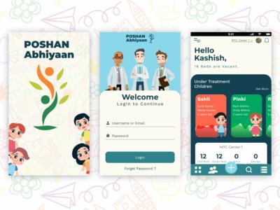Poshan Abhiyaan : Malnutrition Treatment App