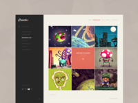 Concept - Portfolio Website