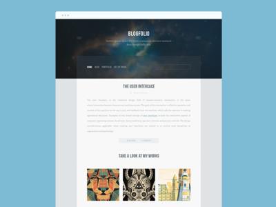 Blogfolio - Blog & Portfolio Template