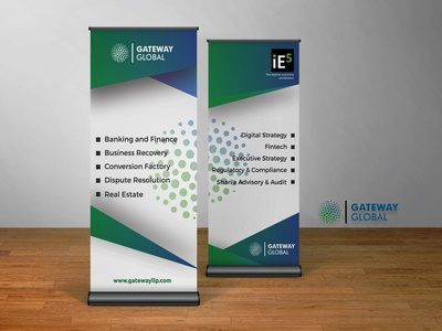 Branding - Roll Up Banners