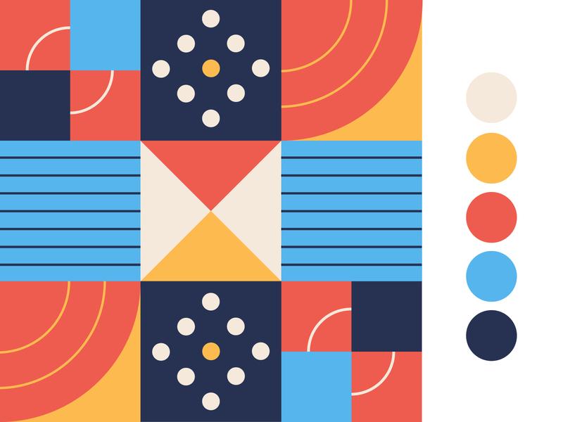 Geometric Patterns tbilisi shapes colorpalette pattern geometric design geometric art illustration graphic design georgia vector
