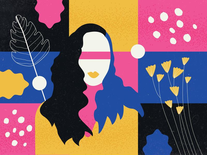 Portrait Shaping portrait illustration portrait art graphic design illustrator georgia illustration vector