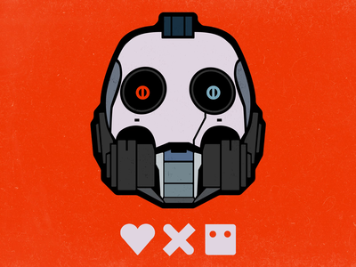 Love, Death + Robots robots death love dribbble tbilisi design movie illustration georgia graphic design illustrator vector