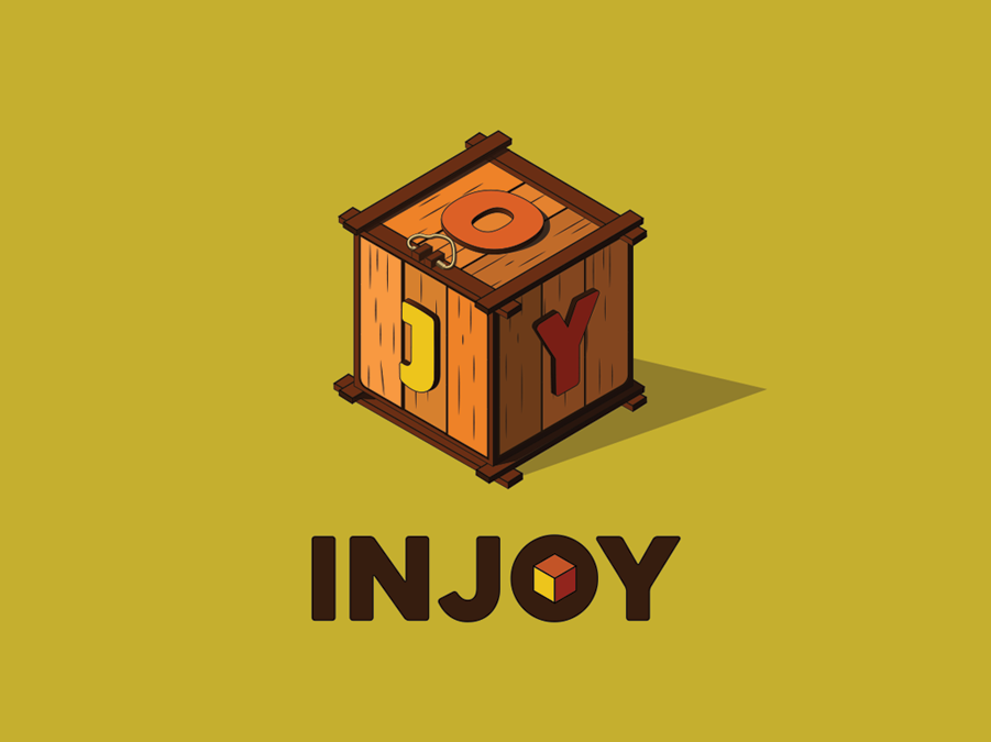 INJOY - Animation Studio illustration logo graphic design