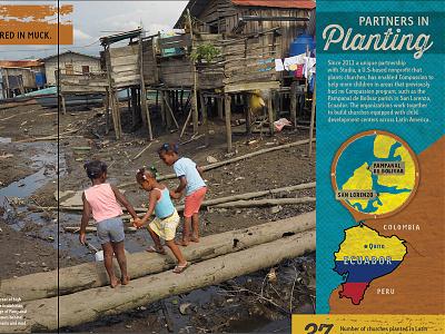 Final Ecuador Map map page layout magazine