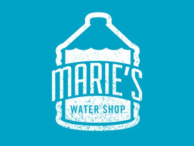 Haiti Water Shop logo brand haiti icon