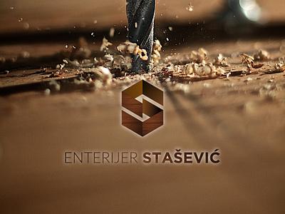 Enterijer Stašević adobe photoshop adobe ilustrator typography vector serbia belgrade branding business brand logo design logodesign logo grapic design graphic  design design