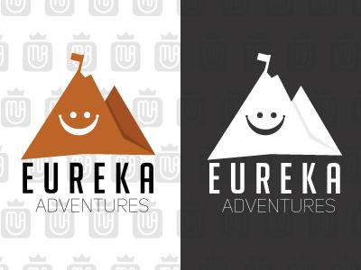 Eureka Adventures logo concept 1 logo branding design design brandidentity brand branding