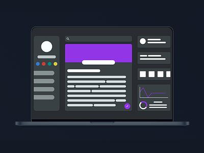 Minimal Dashboard Design [Web] flat app design dashboard ui dashboad web design web ui design uxui ux ui minimal design