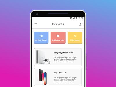 Product UI ux desgin ui deisgn mobile ui app design flat minimal mobile deisgn ux ui