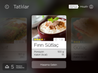 Interactive Restaurant Menu App.