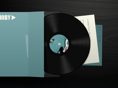 Special Record Cover and Letter