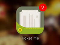 Ticket App Icon Rebound