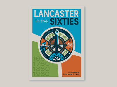 Lancaster History Exhibit Branding