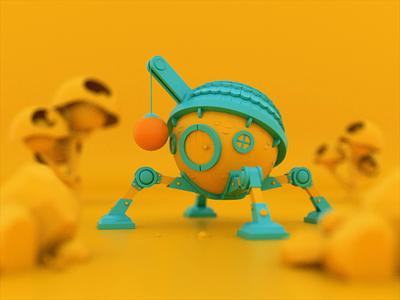Сhoose your side animation 3d animation house game illustration character blender 3d ilustration 3d design 3d artwork 3d art