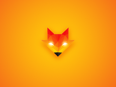Fox Logo fox logo logo design logos orange fox