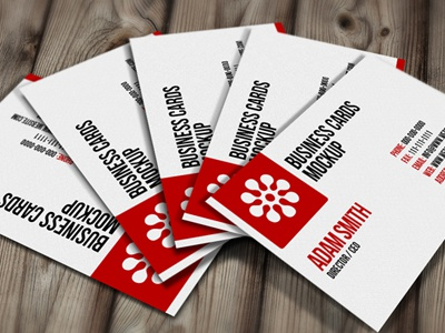 Free PSD: Business Cards Mockup business cards free cards psd mockup