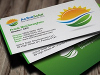 Arslan tags business cards dribbble active solar business cards colourmoves Image collections