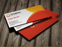 Creative Free Psd Of This Simple And Business Cards
