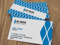 Free PSD: Elegant Business Cards