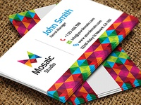 Mosaic Studio Business Card