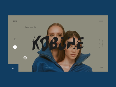 CO78 — KOBOHE micro photography fashion colors motion art website web interaction graphic animation animated ux ui typography minimal layout interface grid design