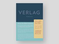 Verlag Poster