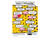 Mental Health, stress management poster
