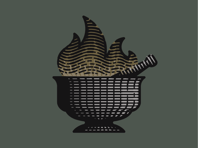 Apothecary Smoke Co. logo engraving logo marijuana design