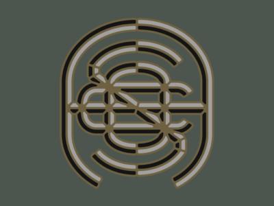 Apothecary Smoke Co. monogram logo